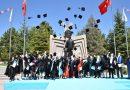 Selçuk Üniversitesinde Genç Turizmciler Mezuniyet Sevinci Yaşadı